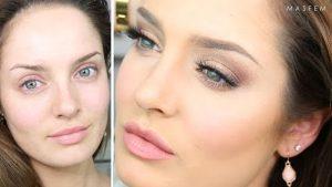 нюдовый макияж