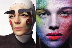 история макияжа